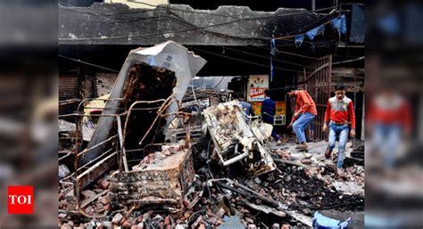 breakthrough  delhi riots probe  held  killing