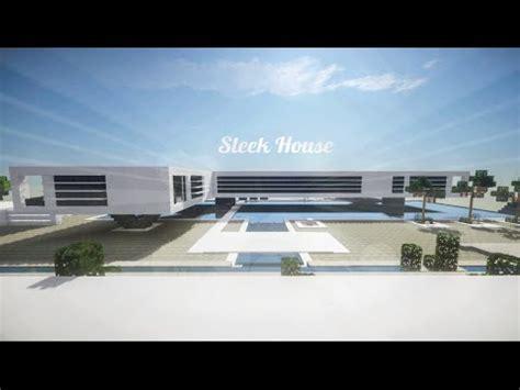 Minecraft Modern Sleek House (build Review) Youtube