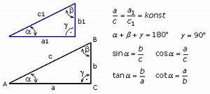 Innenwinkel Dreieck Berechnen Vektoren : winkelfunktionen im rechtwinkligen dreieck ~ Themetempest.com Abrechnung