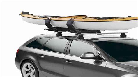 thule kayak rack for 2 kayaks thule 887 slipstream kayak roof rack mount carrier