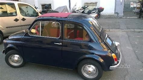 fiat 500 zubehör sold fiat 500 r anni 70 used cars for sale
