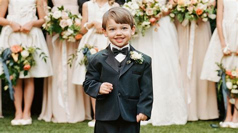 dapper ring bearers who completely stole our hearts martha stewart weddings