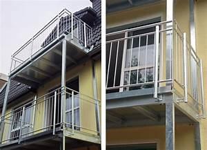 Balkon Selber Bauen Stahl : aufgest nderte balkone ~ Lizthompson.info Haus und Dekorationen