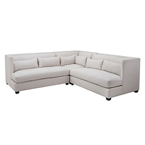 z gallerie pierce sofa pierce 3 pc sectional natural sectionals sofas
