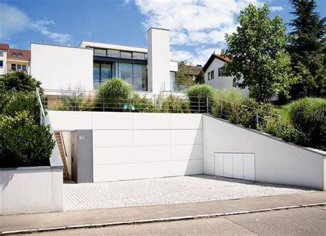 Garage Unter Dem Haus by Garage Und Keller Unter Dem Rasen H 228 User Haus Hanglage