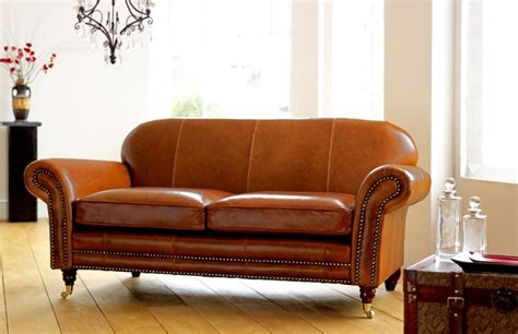 Settee Leather by Rochester Vintage Leather Settee Leather Sofas
