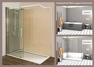 Badsanierung Selber Machen : barrierefreies bad wanne zur dusche begehbare ~ A.2002-acura-tl-radio.info Haus und Dekorationen