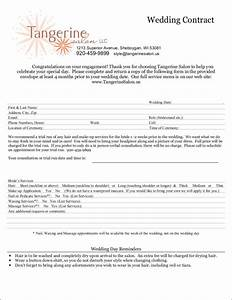 10 wedding contract samples templates sample templates With wedding photo contract template