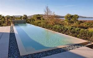 Piscine Couloir De Nage : un exemple de piscine contemporaine fa on couloir de nage ~ Premium-room.com Idées de Décoration