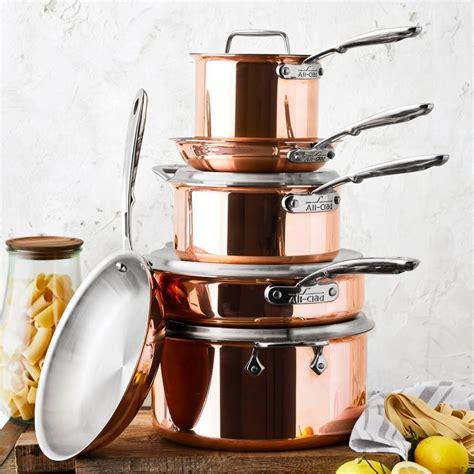 clad  copper saucepan   williams sonoma au