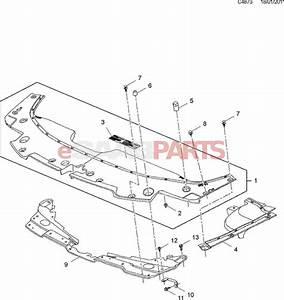 11588723  Saab Bolt  Crankshaft Right Rear  Rear Oil Seal