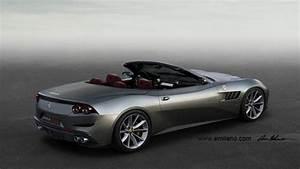 Ferrari Gtc4 Lusso : rendering ferrari gtc4 lusso cabriolet by evren milano ~ Maxctalentgroup.com Avis de Voitures
