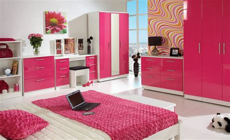bedroom color meanings feng shui colors and its meaning midcityeast 10332 | Complete Teen Bedroom using Lovely Feng Shui Colors near White Bed and Pink Duvet facing Pink Dressers