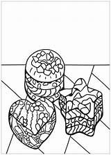 Coloring Cupcake Cup Cupcakes Cakes Coloriage Colorare Colorear Disegni Adults Adulti Justcolor Adultos Erwachsene Malbuch Fur Simple Imprimer Gateaux Gratuit sketch template