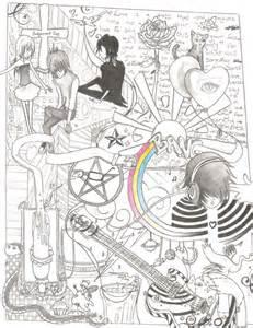Cute Emo Love Drawings