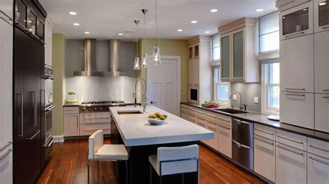 Clean And Kitchen Designs by Clean Lines And Light In A Contemporary Kitchen Drury Design