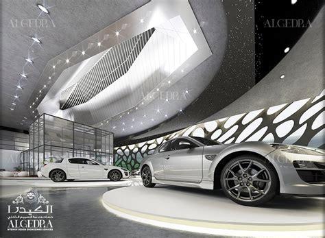 Car Showroom Interior Design in Doha   Algedra