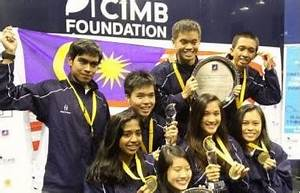Malaysia Strike Double Gold In Asian Junior Championships ...