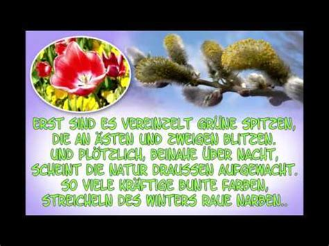 liebe fruehlingsgruesse fuer dich youtube