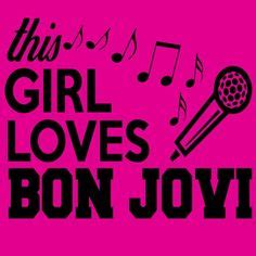 Jovi Girl Bon Tee Shirt Designs