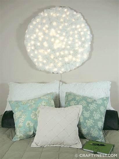 Diy Lighting Creative Wall Coffee Filter Lamp