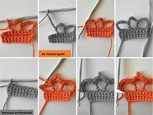 Crochet En S : broche corona en crochet tutorial ~ Nature-et-papiers.com Idées de Décoration