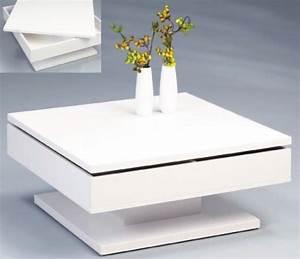 Hochglanz Couchtisch Weiß : design couchtisch deckplatte schwenkbar hochglanz weiss quadrat tisch eur 189 00 ~ Orissabook.com Haus und Dekorationen
