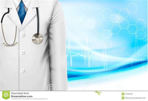 medical background   doctors lab white coat stock