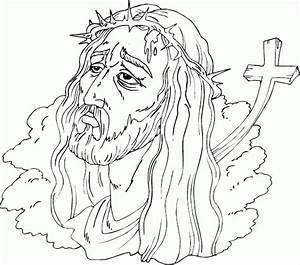 Crown Of Thorns Coloring Page Coloringcom