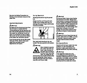 Stihl Fh Hedge Trimmer Owners Manual