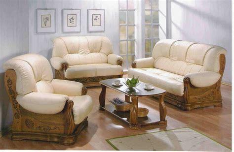 canape cuir et bois canape rustique cuir et bois canapé idées de
