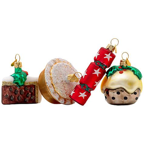 buy bombki little english christmas ornaments set of 4