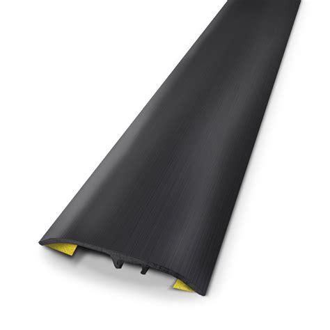 barre de seuil alu exterieur barre de seuil en aluminium dinac noir 37 x 83 cm leroy merlin