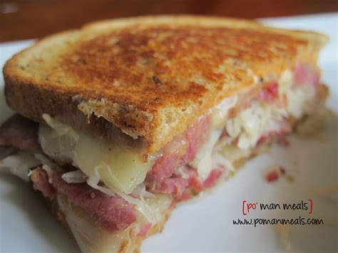 ruben cuisine po 39 meals cheesy reuben sandwich