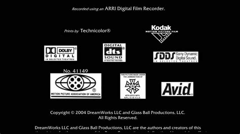 mpaaglass ball productionsdistributed  dreamworks distribution llcdreamworks animation