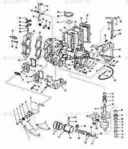 Evinrude Outboard Parts By Hp 18hp Oem Parts Diagram For