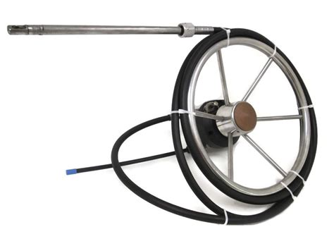 Boat Steering Wheel System boat steering system teleflex marine rotary cable