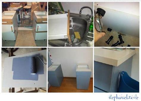 faire un bureau soi meme faire soi même un bureau avec des meubles de cuisine et un