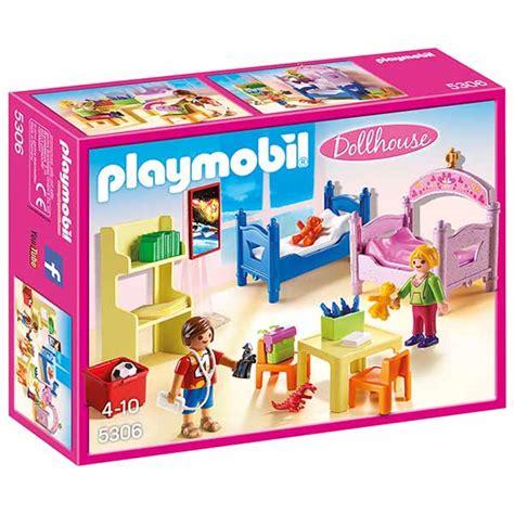 playmobil chambre playmobil chambre d 39 enfants avec lits superposes 5306