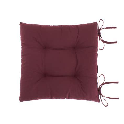 Cuscini Da Sedia Cuscino Da Sedia Puro Cotone Tinta Unita Coincasa