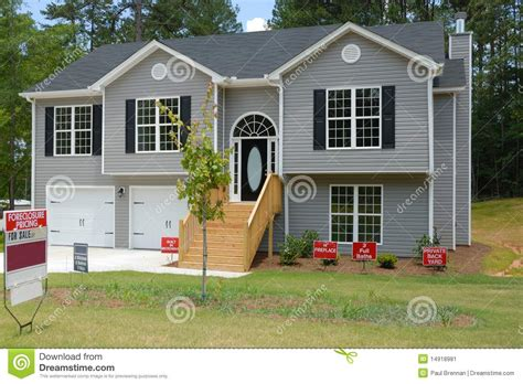 split level home  sale stock image image