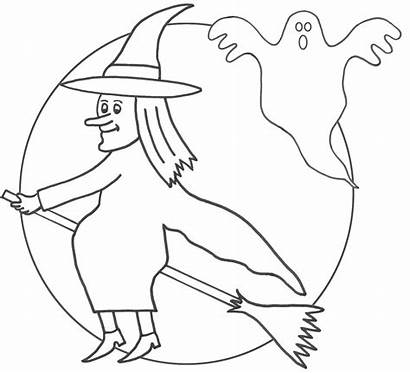 Witch Coloring Pages Printable