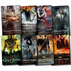 Cassandra Clare Mortal Instruments Infernal Devices ...