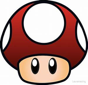"""Super Mario Mushroom"" Stickers by Lauramazing Redbubble"