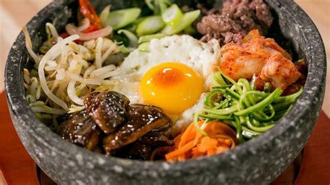 recette de oliver sur cuisine tv la recette d 39 un plat traditonnel coréen le bibimbap