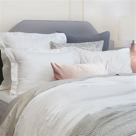 linen duvet cover white linen duvet cover the soft white crane canopy