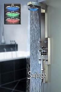 Duschpaneel Mit Massagedüsen : led edelstahl duschpaneel duschs ule mit massaged sen und regendusche von sanlingo bad ~ Eleganceandgraceweddings.com Haus und Dekorationen