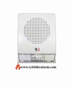 Edwards Est G4f-s2vm Wall Speaker Strobe