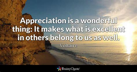 appreciation   wonderful