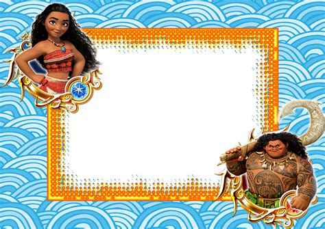 Moldura E Wallpaper Moana